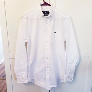 Vineyard Vines XS white Tucker shirt button down